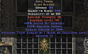 Spike Thorn 20% DR