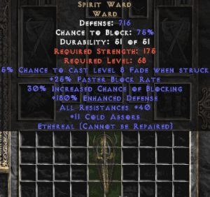 Spirit Ward - Ethereal - 40% All Res