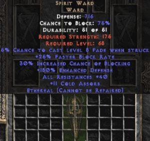 Spirit Ward - Ethereal