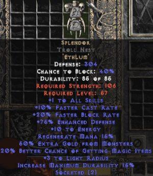 Splendor Troll Nest - 75-99% ED