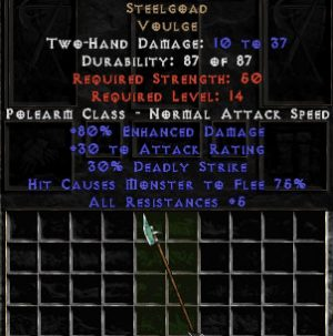 Steelgoad - +80% ED - Perfect