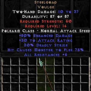 Steelgoad - +80% ED - Perfect