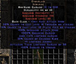 Stormlash - 300% ED, 3-8 LA