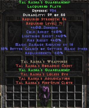 Tal Rasha's Guardianship - 833-940 Def