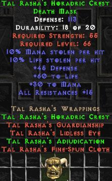 Tal Rasha's Horadric Crest