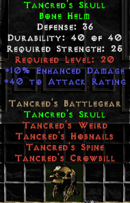 Tancred's Skull - 36 Def - Perfect
