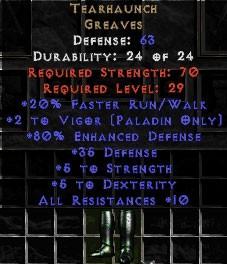 Tearhaunch - +80% ED