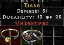 10 x Unid Rare Tiara