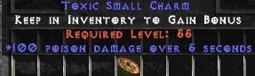 100 Poison Damage SC (plain)