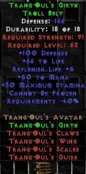 Trang-Oul's Girth - +50 Mana