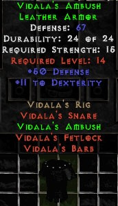 Vidala's Ambush - 67 Def - Perfect