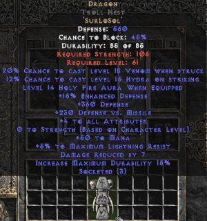 Dragon Troll Nest - 3-4 All Stats