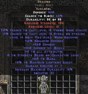 Dragon Troll Nest - 5 All Stats - Perfect