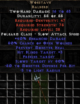 Woestave - 40% ED - Perfect