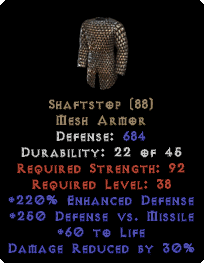 Shaftstop perfect 220% ED