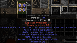 =+20/-20 Cold Facet Level-Up Wyrmhide