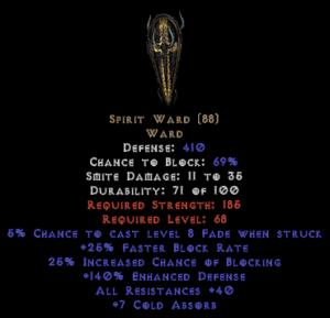 Spirit Ward - 40% All Res