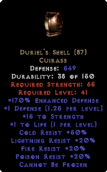 Duriel's Shell