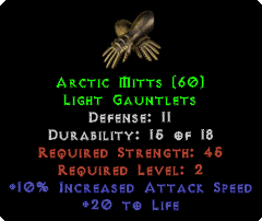 Arctic Mitts - 11 Defense - Perfect