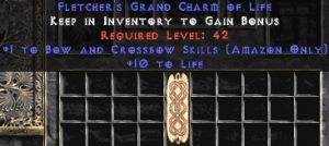 Amazon Bow & Crossbow Skills w/ 10-20 Life GC