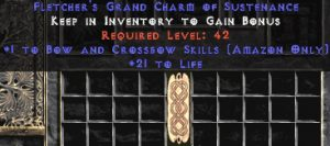 Amazon Bow & Crossbow Skills w/ 21-29 Life GC