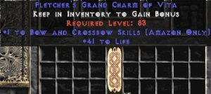 Amazon Bow & Crossbow Skills w/ 41-44 Life GC