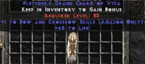 Amazon Bow & Crossbow Skills w/ 45 Life GC