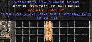 Amazon Javelin & Spear Skills w/ 10-20 Life GC