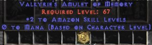 Amazon Amulet - 2 All Zon Skills & 0.75 MPL