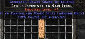 Amazon Passive & Magic Skills w/ 12% FHR GC
