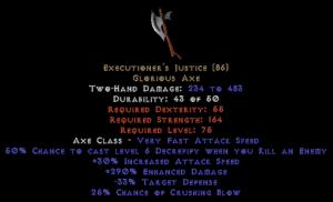 Executioner's Justice 270%+ ed