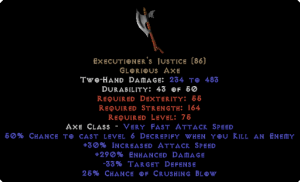 Executioner's Justice 270%+ ed