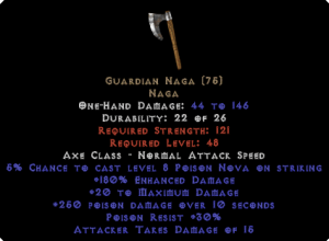 Guardian Naga - 180% ED - Perfect