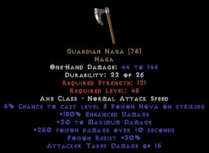 Guardian Naga - 180% ED - Perfect