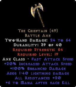 The Chieftain - 20 All Res - Perfect