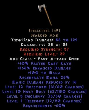 Spellsteel - 15 MDR - Perfect