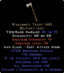 Warlord's Trust