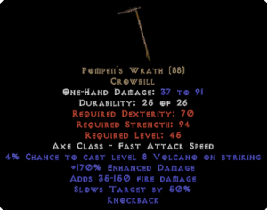Pompeii's Wrath - 170% ED - Perfect