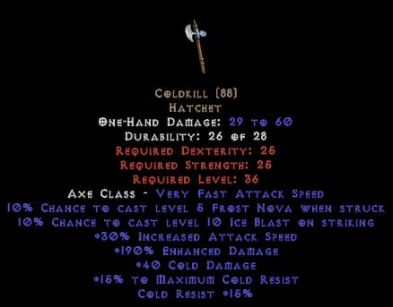 Coldkill - 190% ED - Perfect