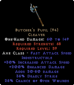Butcher's Pupil - 200% ED