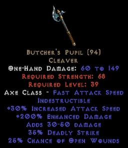 Butcher's Pupil - 200% ED