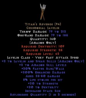 Titan's Revenge - 200% ED
