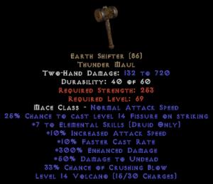 Earth Shifter - 300% ED - Perfect