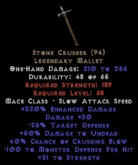 Stone Crusher 320% ED