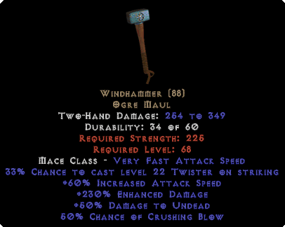 Windhammer - 230% ED - Perfect