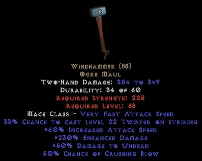 Windhammer 220%+ ED