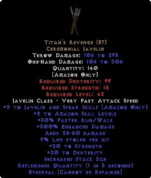 Titan's Revenge - Ethereal - 200/9 - Perfect