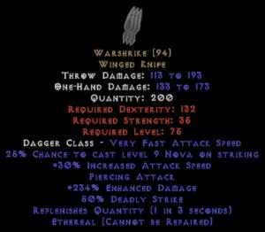 Warshrike - Ethereal - 230%+ ED