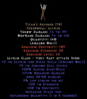 Titan's Revenge - 9% ll