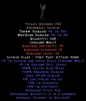 Titan's Revenge - Ethereal - 9% ll